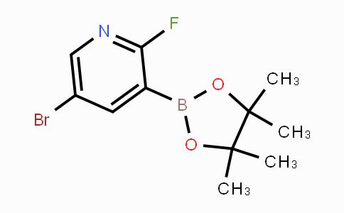 1073353-50-0 | 5-Bromo-2-fluoropyridine-3-boronic acid pinacol ester