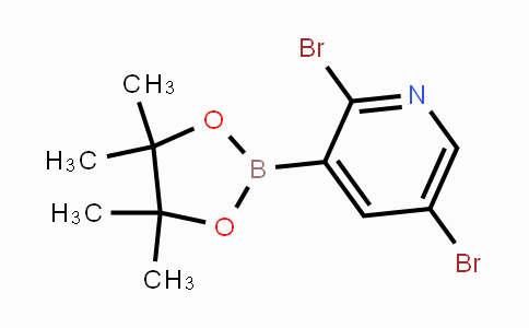 DY454343   852228-17-2   2,5-Dibromopyridine-3-boronic acid pinacol ester