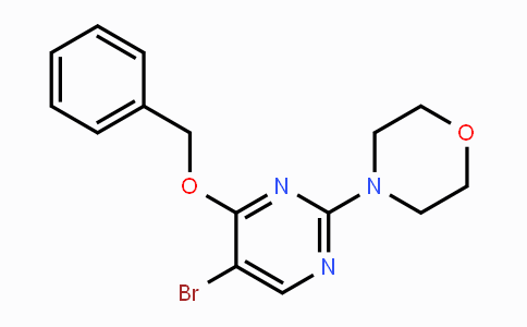 MC454349 | 885952-23-8 | 4-Benzyloxy-5-bromo-2-morpholin-4-yl-pyrimidine
