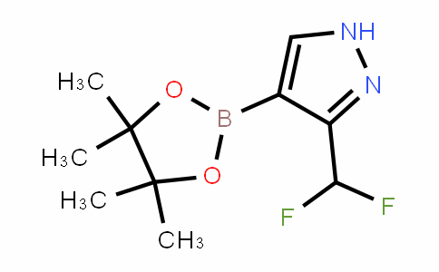 MC454361 | 1842394-21-1 | 3-(Difluoromethyl)-4-(4,4,5,5-tetramethyl-1,3,2-dioxaborolan-2-yl)-1H-pyrazole