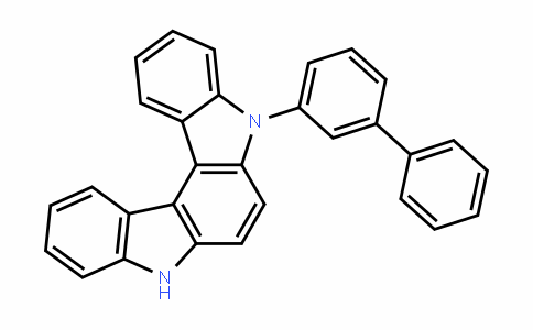 DY454364 | 5-(Biphenyl-3-yl)-5,8-dihydroindolo[2,3-c]carbazole