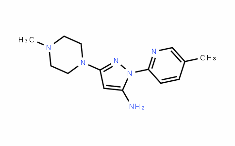 MC454389 | 3-(4-Methylpiperazin-1-yl)-1-(5-methylpyridin-2-yl)-1H-pyrazol-5-amine