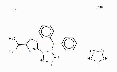 MC454408 | 163169-29-7 | (S)-1-(二苯基膦基)-2-[(S)-4-异丙基恶唑啉-2-基]二茂铁