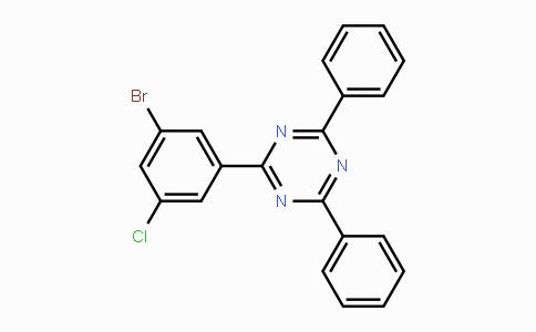 1073062-42-6 | 2-(3-broMo-5-chlorophenyl)-4,6-diphenyl-1,3,5-triazine
