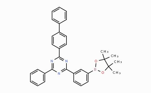 1696425-30-5 | 2-([1,1'-联苯]-4-基)-4-苯基-6-(3-(4,4,5,5-四甲基-1,3,2-二氧杂环戊硼烷-2-基))-1,3,5-三嗪