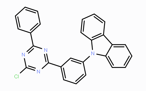 MC454432 | 1268244-56-9 | 9-[3-(4-氯-6-苯基l-[1,3,5]三嗪-2-基)-苯基]-9H-咔唑