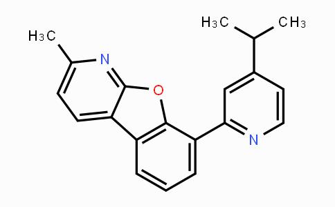 MC454436 | 1883375-18-5 | 2-甲基-8-[4-(1-甲基乙基)-2-吡啶基)苯并呋喃并[2,3-B]吡啶