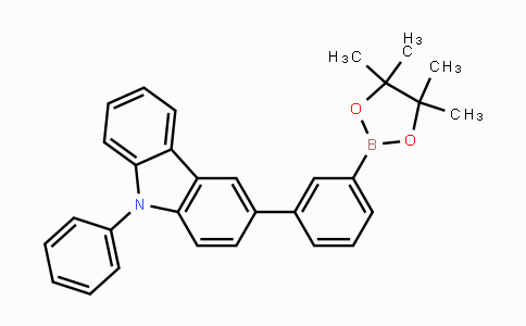 DY454548 | 1569294-77-4 | 9-phenyl-3-(3-(4,4,5,5-tetramethyl-1,3,2-dioxaborolan-2-yl)phenyl)-9H-carbazole