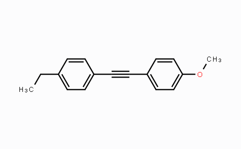 DY454558 | 63221-88-5 | Benzene, 1-ethyl-4-[2-(4-methoxyphenyl)ethynyl]-