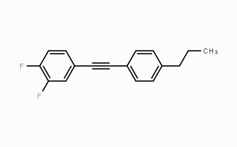 DY454561 | 145698-43-7 | Benzene, 1,2-difluoro-4-[2-(4-propylphenyl)ethynyl]-
