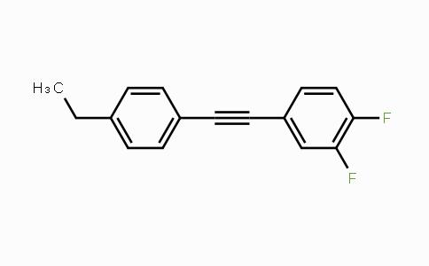 DY454563 | 145698-42-6 | Benzene, 4-[2-(4-ethylphenyl)ethynyl]-1,2-difluoro-