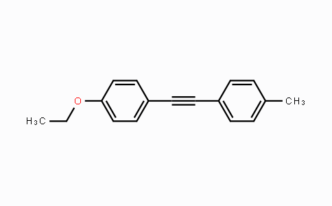 DY454566 | 116903-46-9 | Benzene, 1-ethoxy-4-[2-(4-methylphenyl)ethynyl]-