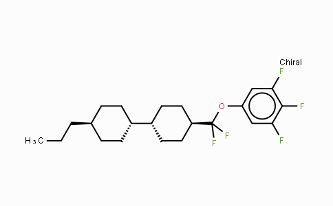 DY454579 | 208338-50-5 | 5-[Difluoro[(trans,trans)-4′-propyl[1,1′-bicyclohexyl]-4-yl]methoxy]-1,2,3-trifluorobenzene