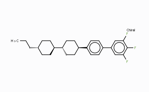 DY454590 | 137529-41-0 | 3,4,5-Trifluoro-4′-[(trans,trans)-4′-propyl[1,1-bicyclohexyl]-4-yl]-biphenyl