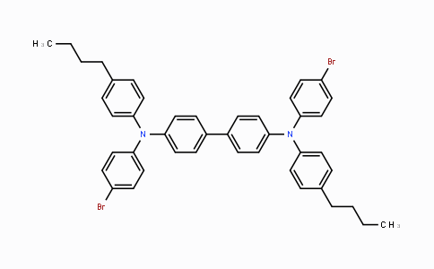 790235-81-3 | N4,N4'-bis(4-bromophenyl)-N4,N4'-bis(4-butylphenyl)-[1,1'-biphenyl]-4,4'-diamine