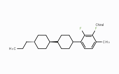 DY454618 | 174350-06-2 | 2,3-Difluoro-1-methyl-4-[(trans,trans)-4'-propyl[1,1'-bicyclohexyl]-4-yl]benzene