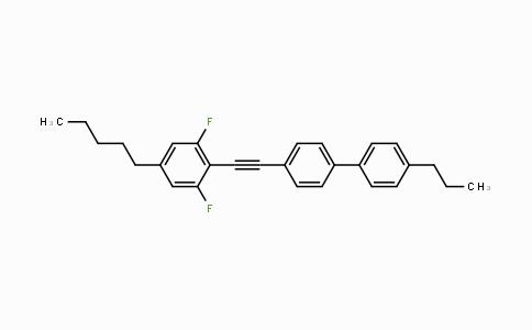 DY454660 | 1149373-93-2 | 1,1'-Biphenyl, 4-[2-(2,6-difluoro-4-pentylphenyl)ethynyl]-4'-propyl-