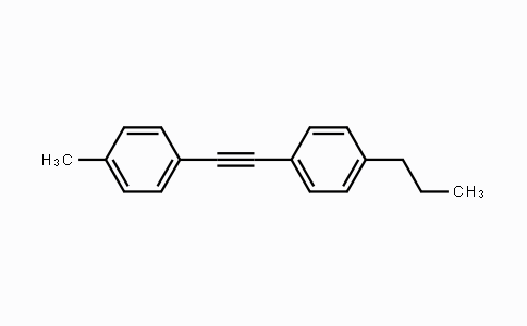 DY454664 | 184161-94-2 | 1-methyl-4-[2-(4-n-propylphenyl)ethynyl]benzene