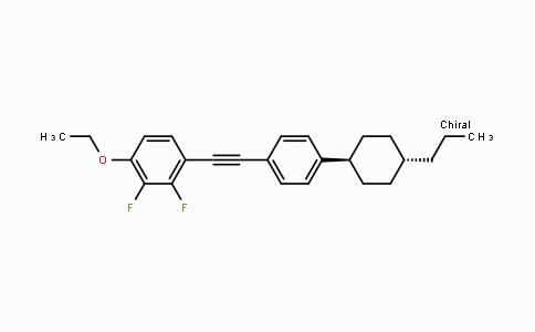 DY454669 | 123560-57-6 | 1-Ethoxy-2,3-difluoro-4-[[4-(trans-4-propylcyclohexyl)phenyl]ethynyl]benzene