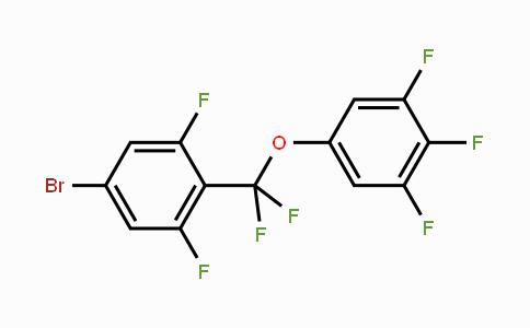 DY454674 | 511540-64-0 | 5-((4-Bromo-2,6-difluorophenyl)difluoromethoxy)-1,2,3-trifluorobenzene