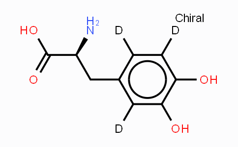 53587-29-4 | 3-(3,4-二羟基苯基-2,5,6-d3)-L-丙氨酸