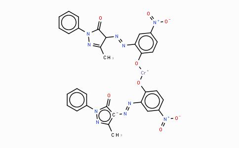 52256-37-8 | 2,4-Dihydro-4-[(2-hydroxy-5-nitrophenyl)azo]-5-methyl-2-phenyl-3H-pyrazol-3-one chromium complex