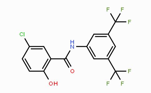 MC455217 | 978-62-1 | N-[3,5-双(三氟甲基)苯基]-5-氯-2-羟基苯甲酰胺