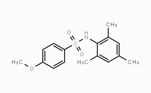 MC455236 | 349085-82-1 | 4-Methoxy-N-(2,4,6-triMethylphenyl)benzenesulfonaMide