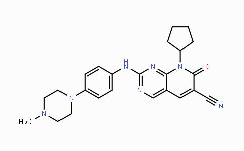 MC455237 | 1357470-29-1 | 8-环戊基-7,8-二氢-2-[[4-(4-甲基-1-哌嗪基)苯基]氨基]-7-氧代-吡啶并[2,3-D]嘧啶-6-甲腈