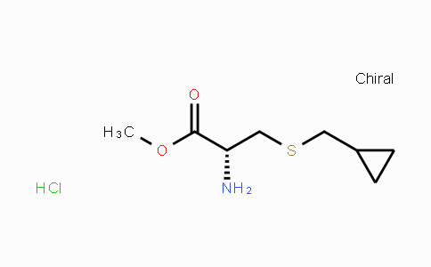 MC455293 | 949084-35-9 | (R)-methyl 2-amino-3-((cyclopropylmethyl)thio)propanoate hydrochloride