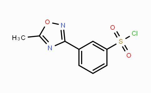 MC455299   10185-62-3   3-(5-methyl-1,2,4-oxadiazol-3-yl)-benzenesulfonyl chloride
