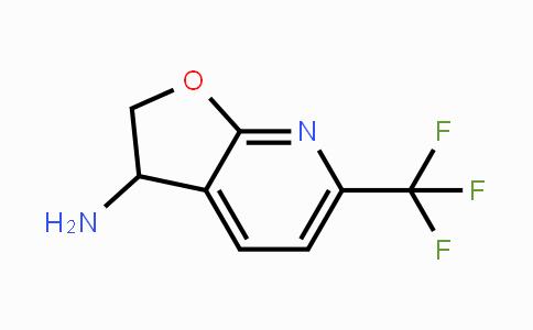 DY455393 | 1196156-88-3 | 6-Trifluoromethyl-2,3-dihydro-furo[2,3-b]pyridin-3-ylamine