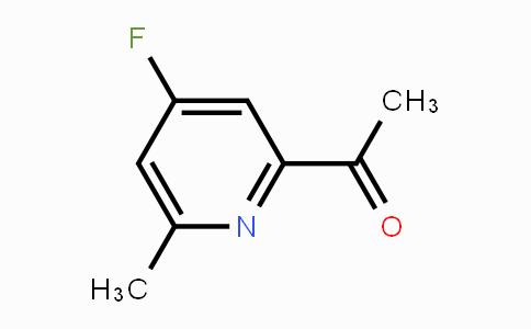 DY455400 | 1393554-59-0 | 1-(4-FLUORO-6-METHYLPYRIDIN-2-YL)ETHANONE