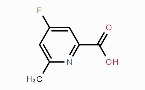 DY455401 | 1060805-99-3 | 4-Fluoro-6-methylpicolinic acid