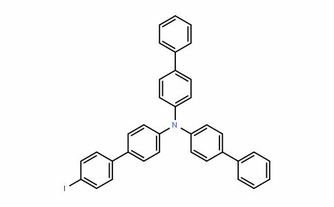N,N-Di([1,1'-biphenyl]-4-yl)-4'-iodo-[1,1'-biphenyl]-4-amine