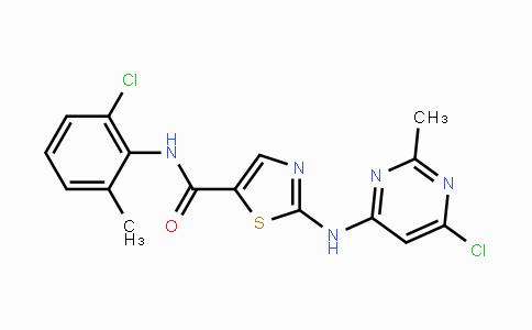 MC455418 | 302964-08-5 | N-(2-Chloro-6-methylphenyl)-2-[(6-chloro-2-methyl-4-pyrimidinyl)amino]-5-thiazolecarboxamide