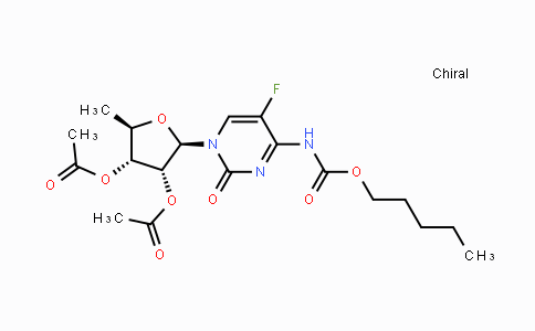 DY455423   162204-20-8   5'-Deoxy-5-fluoro-N-[(pentyloxy)carbonyl]cytidine 2',3'-diacetate
