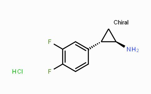 1156491-10-9 | (1R,2S)-REL-2-(3,4-二氟苯基)环丙胺盐酸盐