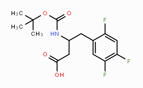 MC455474 | 486460-00-8 | BOC-(R)-3-AMINO-4-(2,4,5-TRIFLUORO-PHENYL)-BUTYRIC ACID