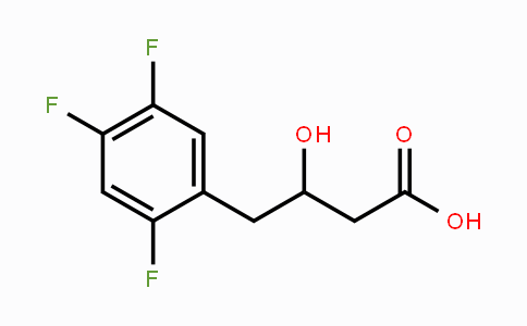 MC455475 | 868071-17-4 | (3S)-2',4',5'-Trifluoro-3-hydroxybenzenebutanoic acid