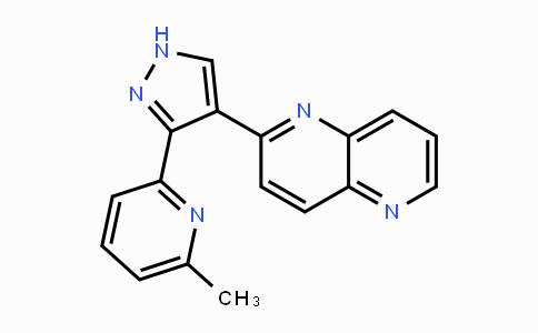 MC455484 | 446859-33-2 | 2-[3-(6-甲基-2-吡啶基)-1H-吡唑-4-基]-1,5-萘啶;2-3-(6-甲基-2-吡啶基)-1H-吡唑-4-基-1,5-萘