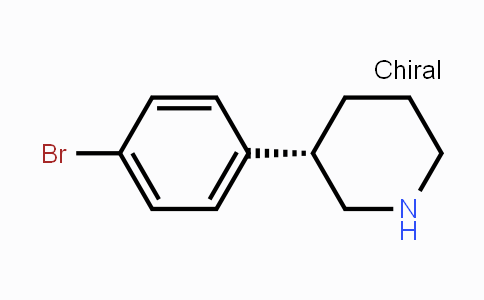 1335523-82-4 | (S)-3-(4-Bromophenyl)piperidine