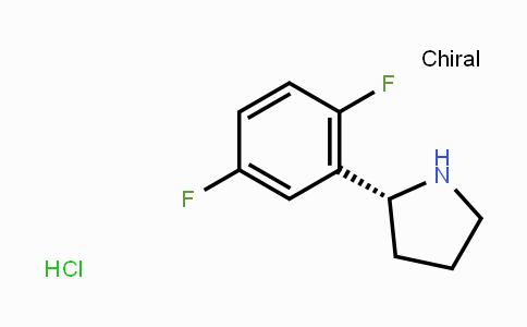 1218935-60-4 | (R)-2-(2,5-二氟苯基)吡咯烷盐酸盐