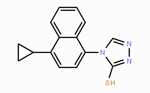 MC455503 | 1533519-84-4 | 4-(4-Cyclopropylnaphthalen-1-yl)-4H-1,2,4-triazole-3-thiol