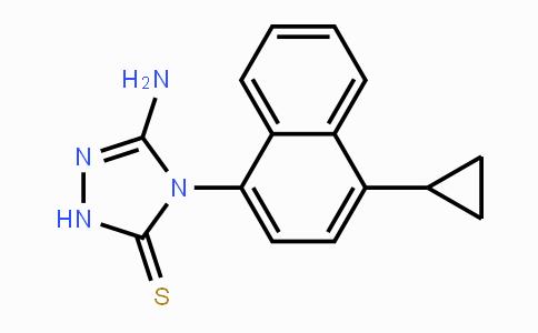 MC455504 | 878671-96-6 | 5-amino-4-(4-cyclopropyl-1-naphthalenyl)-2,4-dihydro-3H-1,2,4-Triazole-3-thione