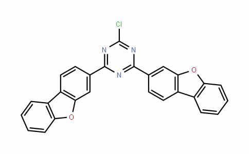 DY455507 | 2251105-15-2 | 2-Chloro-4,6-bis(3-dibenzofuranyl)-1,3,5-Triazine