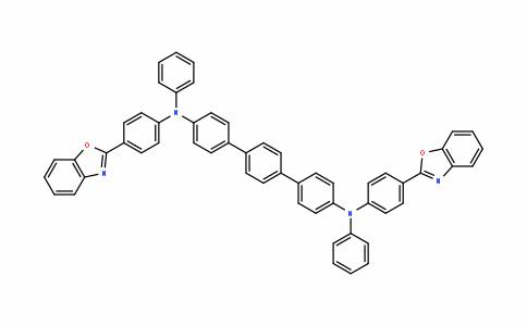 MC455511 | 1643848-14-9 | N,N'-双[4-(1,3-苯并恶唑-2-基)苯基] -N,N'-二苯基[1,1':4',1'-三联苯] -4,4''二胺