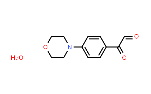 852633-82-0 | 4-Morpholinophenylglyoxal hydrate