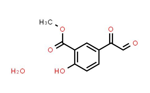 29754-58-3   3-Carbomethoxy-4-hydroxyphenylglyoxal hydrate