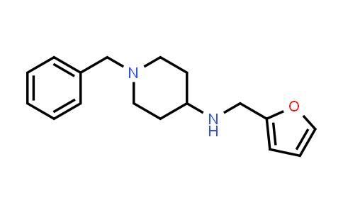 861408-80-2   (1-Benzylpiperidin-4-yl)furan-2-ylmethyl-amine